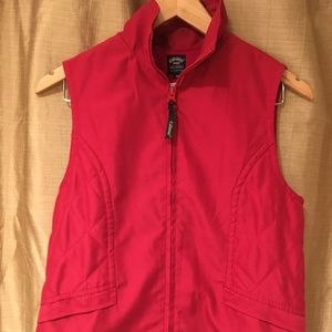 Red Callaway Quilted Vest